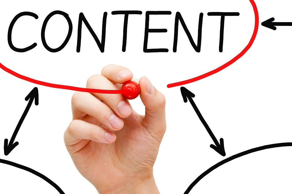 Content concept shot