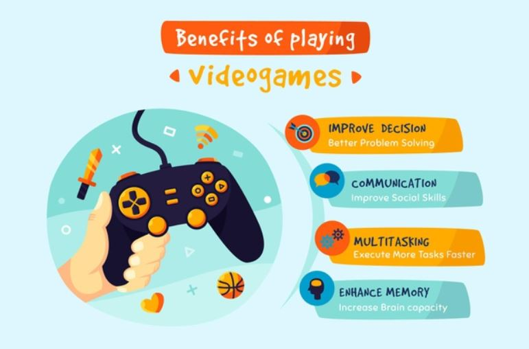 infographic - videogames