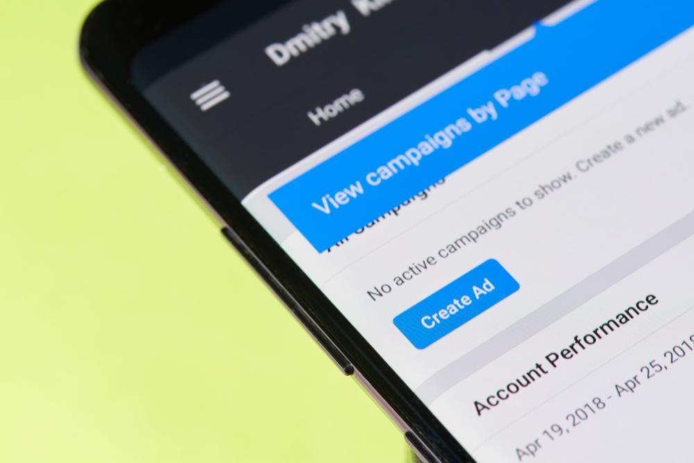Social media ad manager platform
