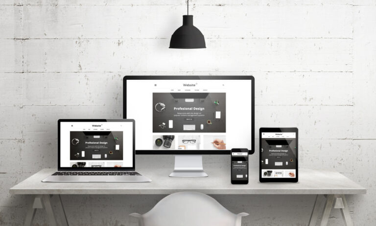 a website developed on wordpress with responsive design